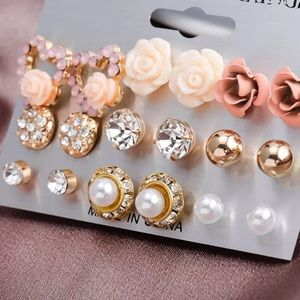 Jewelry - 🌺🌺9PC EARRING SET 🌸🌺